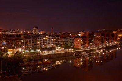 Penthouse - Výhled na část Holešovic