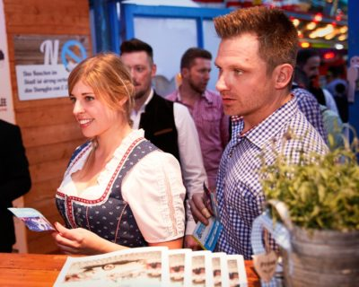 Entrance of the Limburger Oktoberfest 2019